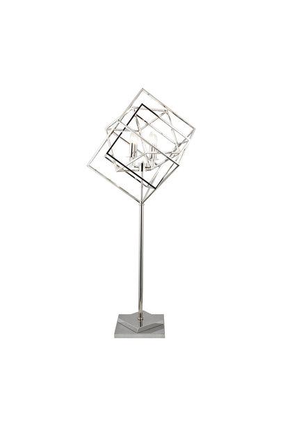FRAME Floor Lamp Silver