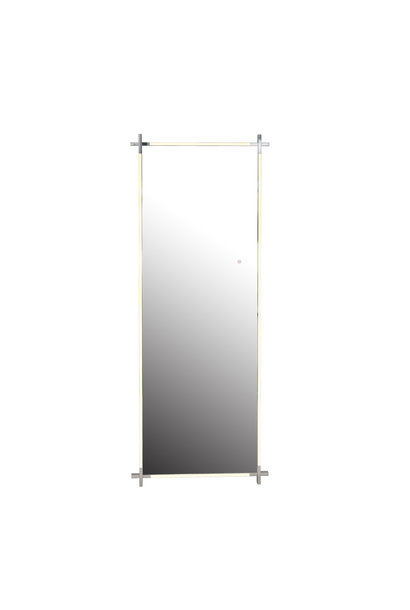 CITY LIGHTS Wall Mirror Silver LED 85x220