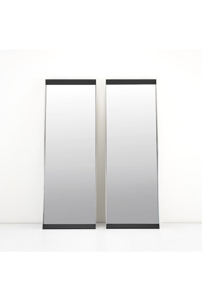 PENTHOUSE Wall Mirror Charcoal Oak 70x200