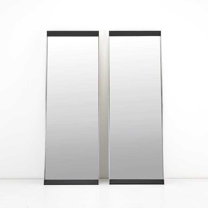 PENTHOUSE Wall Mirror Charcoal Oak 70x200-1
