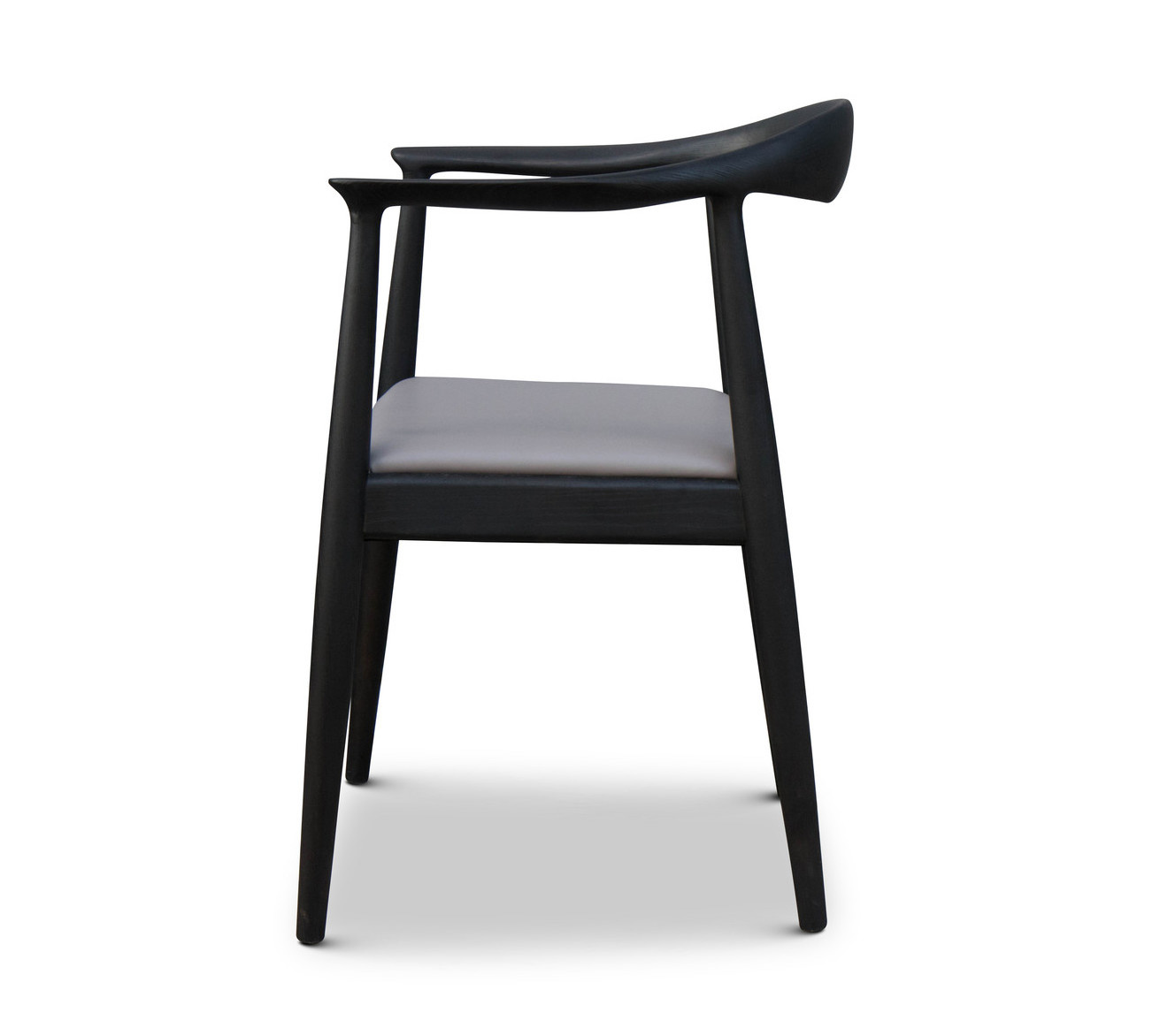 ELIO Dining Chair Beige Leather-3
