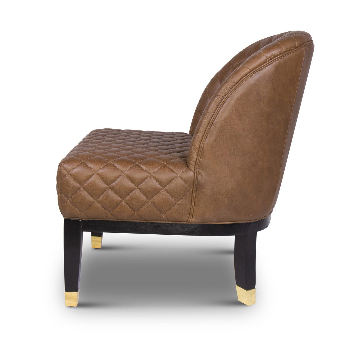 COCO Arm Chair Brown Leather-2