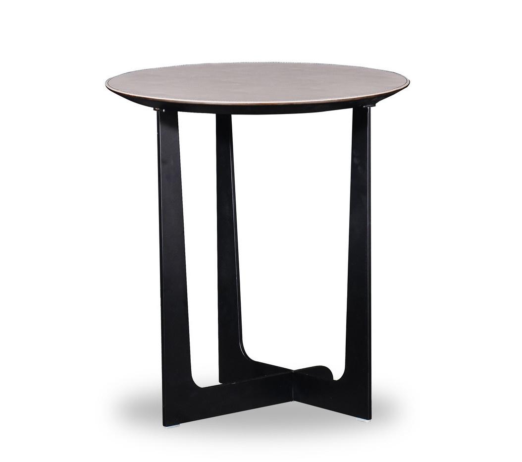 ROSA Coffee Table Charcoal Oak 52cm-2