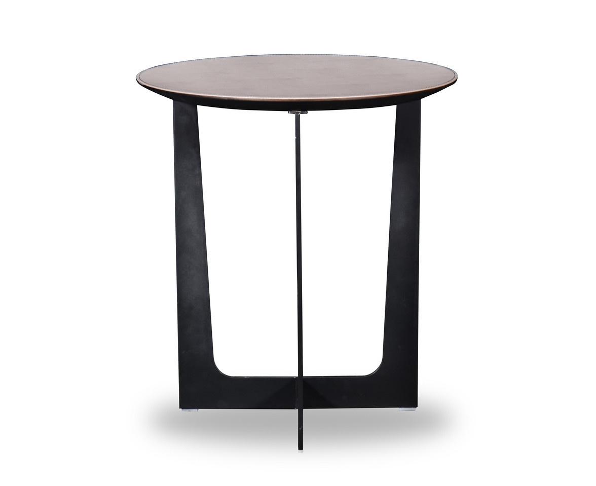 ROSA Coffee Table Charcoal Oak 52cm-1