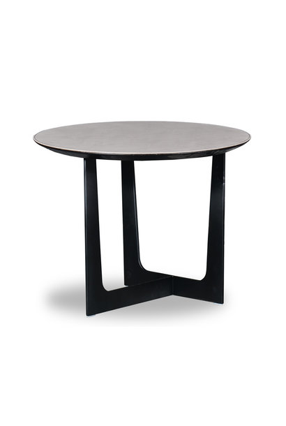 ROSA Coffee Table Charcoal Oak 60cm
