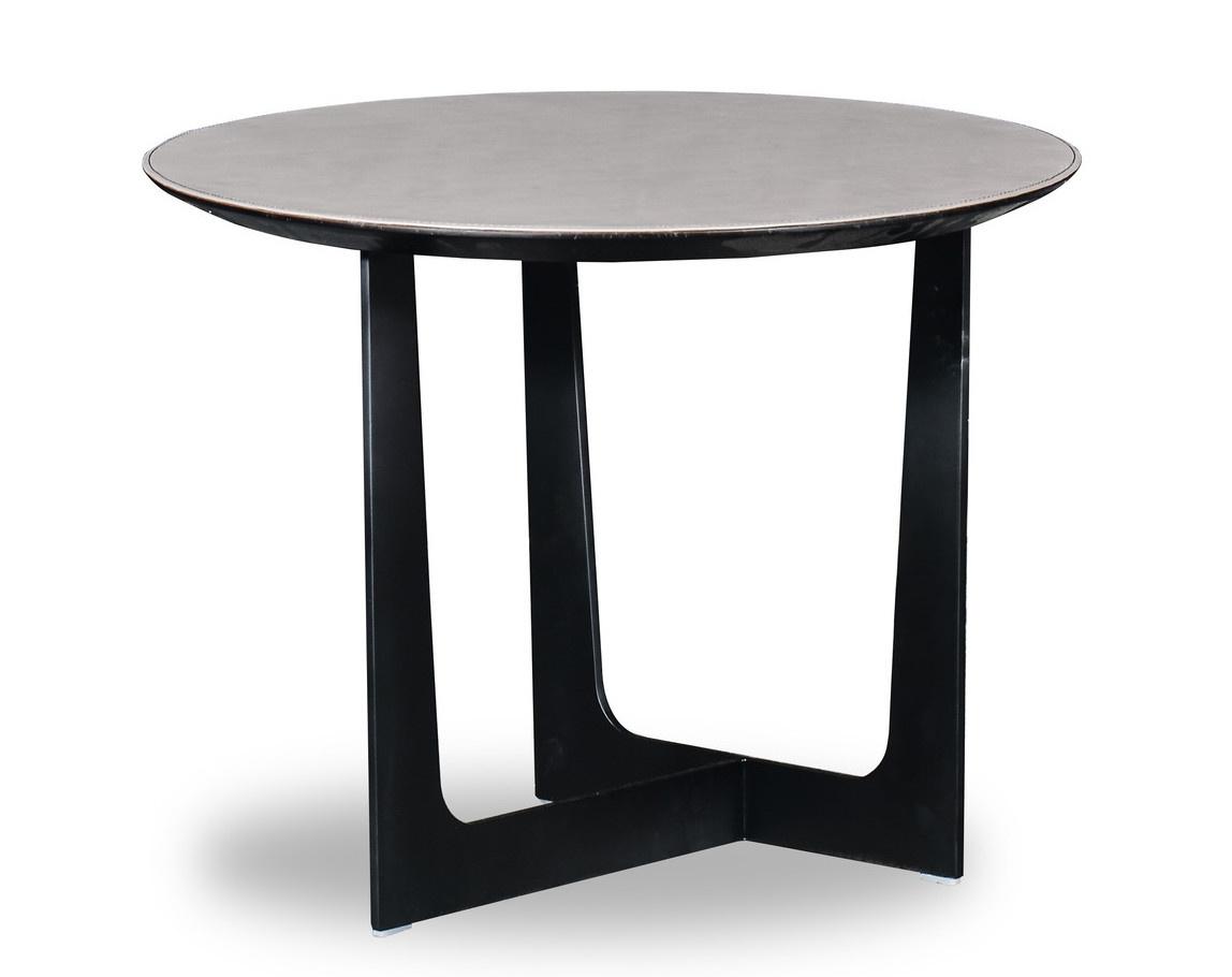 ROSA Coffee Table Charcoal Oak 60cm-1