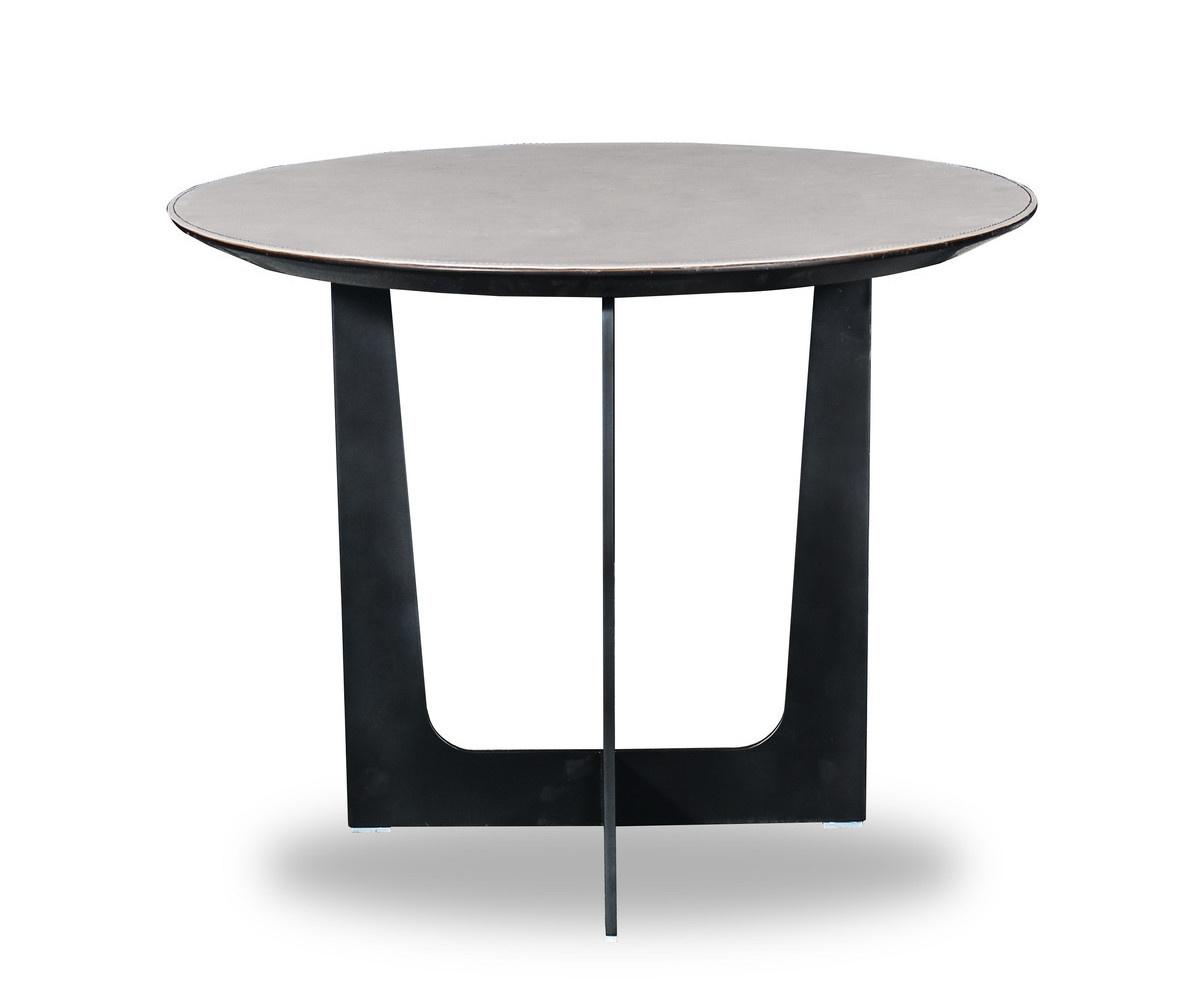 ROSA Coffee Table Charcoal Oak 60cm-2