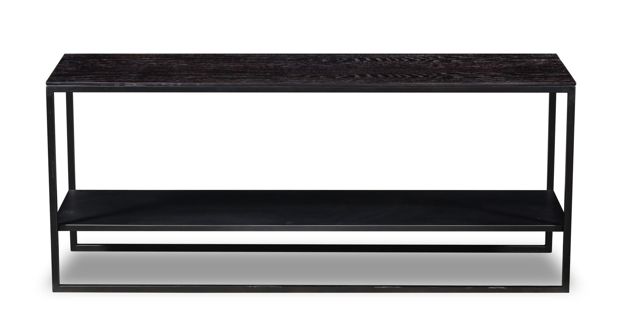 GIULIA Console Charcoal Oak-2