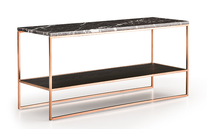 GIULIA Console rose gold brushed-1