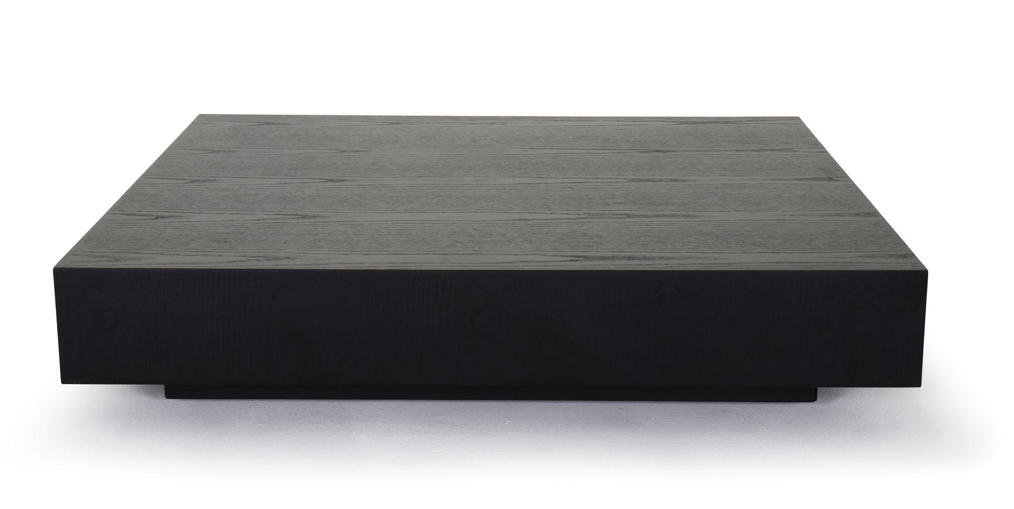 MASSIMO Coffee Table Charcoal Oak-1