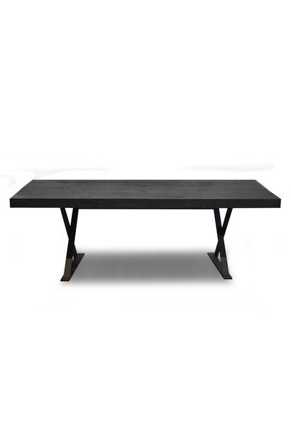 ELIO Dining Table Charcoal Oak
