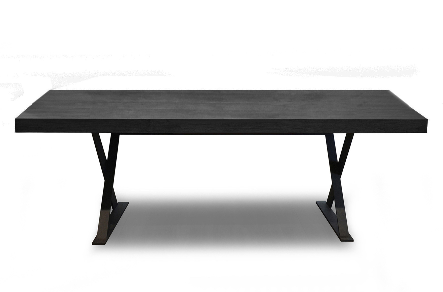 ELIO Dining Table Charcoal Oak-1