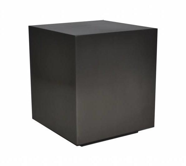 PIENO Side Table Gunmetal-1