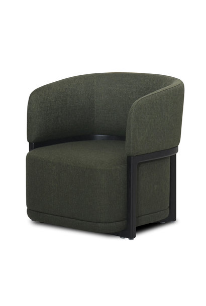 COMO Arm Chair Forest Green Hopsack