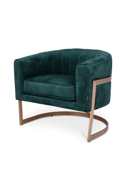 ROBERTO Arm Chair Emerald Velvet