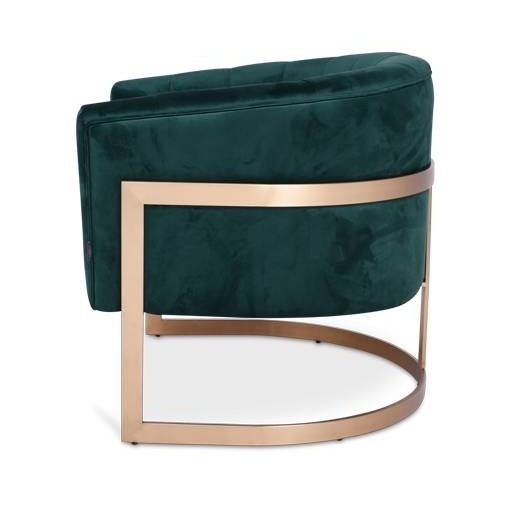 ROBERTO Arm Chair Emerald Velvet-2