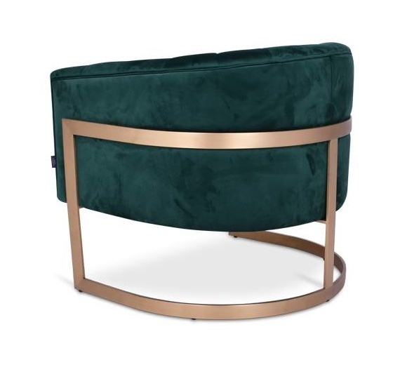 ROBERTO Arm Chair Emerald Velvet-3
