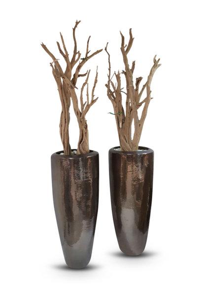 Vase  Ghostwood Bronze Metallic luster 120cm/200cm *
