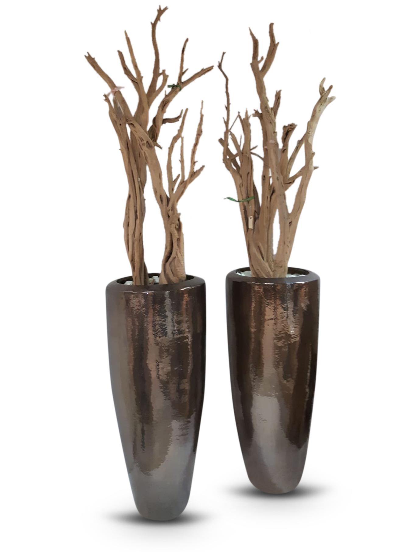 Vase  Ghostwood Bronze Metallic luster 120cm/200cm *-1