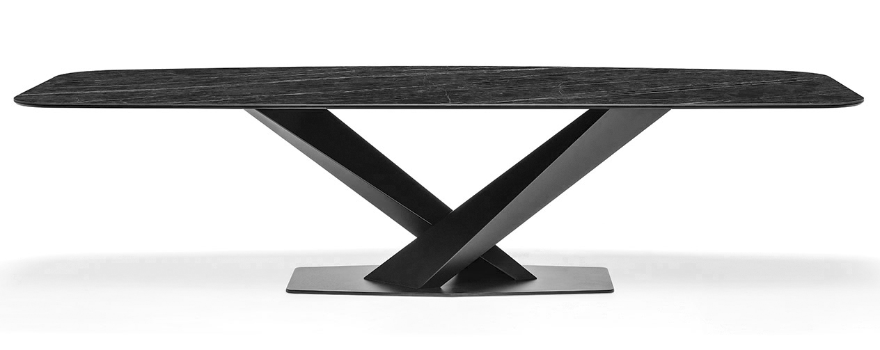 Milano Dining Table antracite marble-1