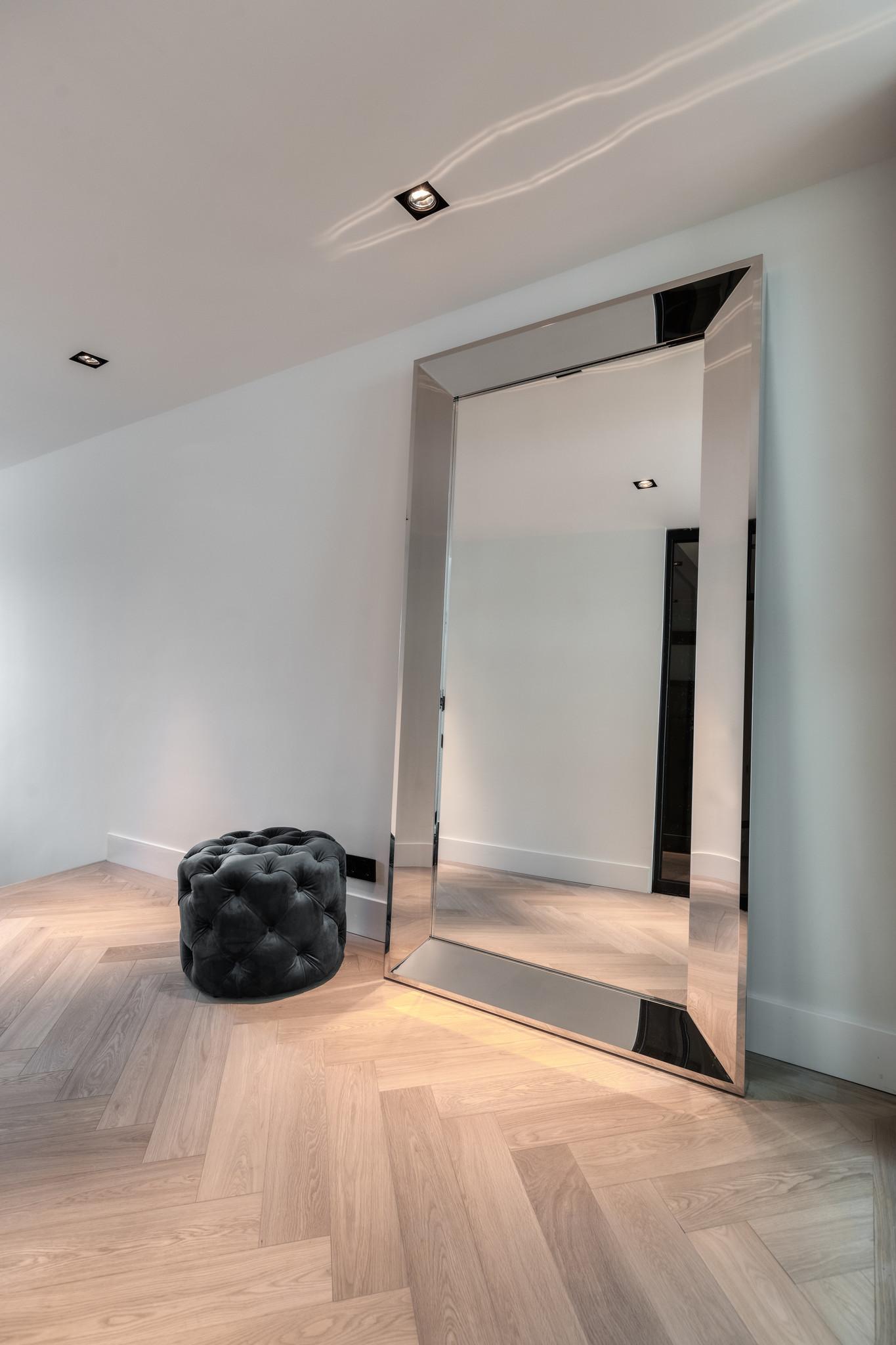 LORENZO Wall Mirror 200cm Silver-2