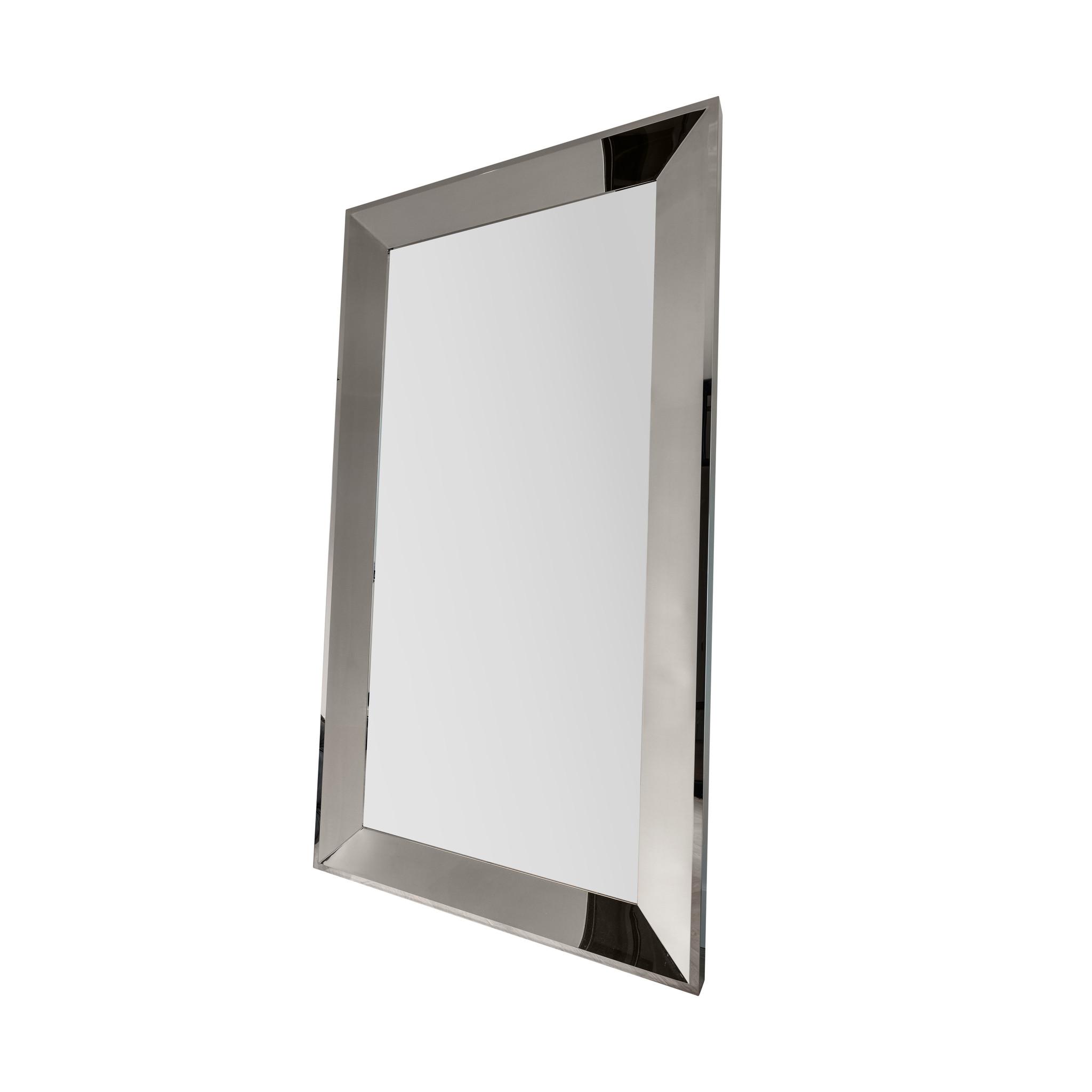 LORENZO Wall Mirror 200cm Silver-1
