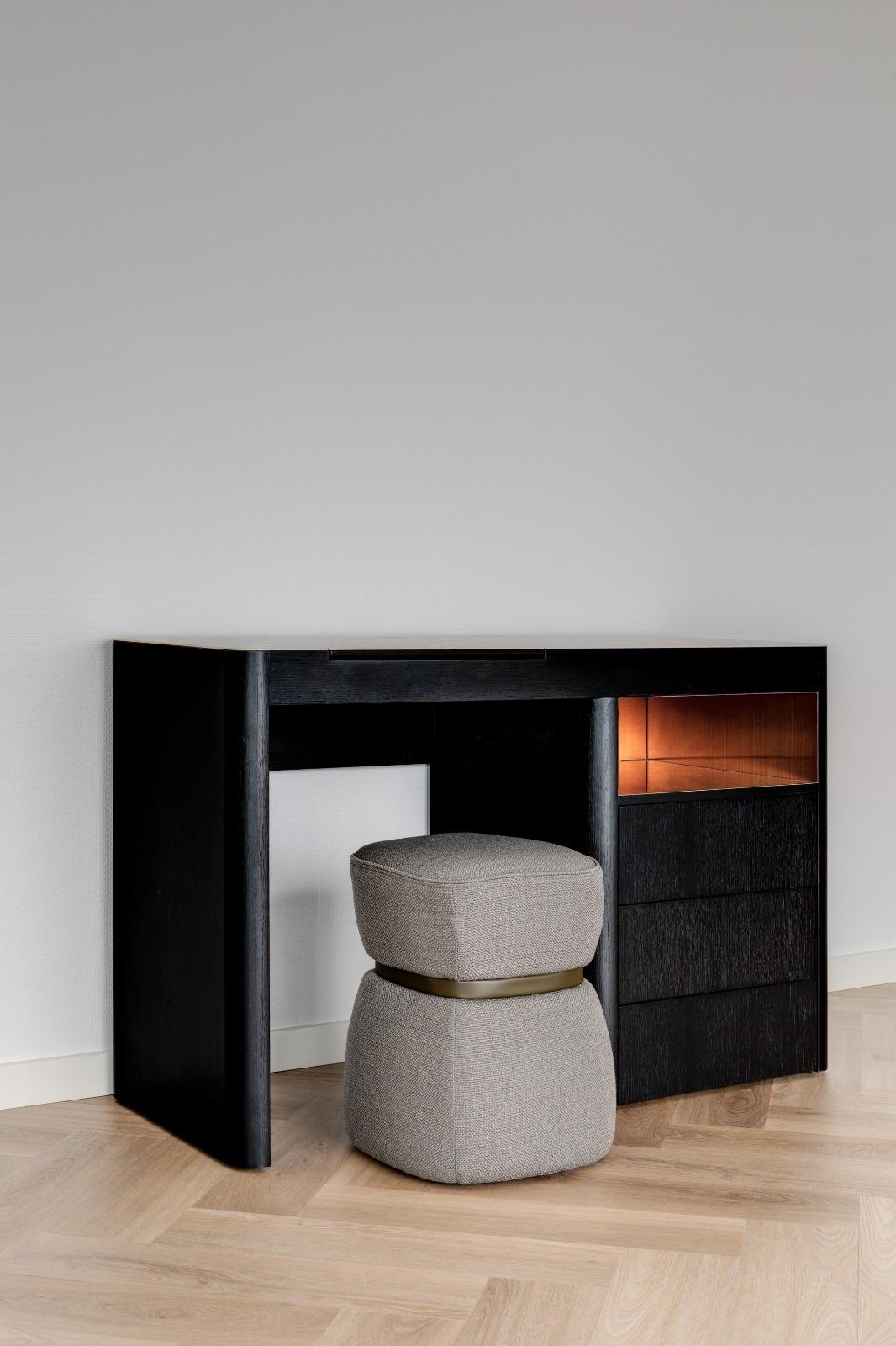 MADISON Vanity Charcoal Oak-5