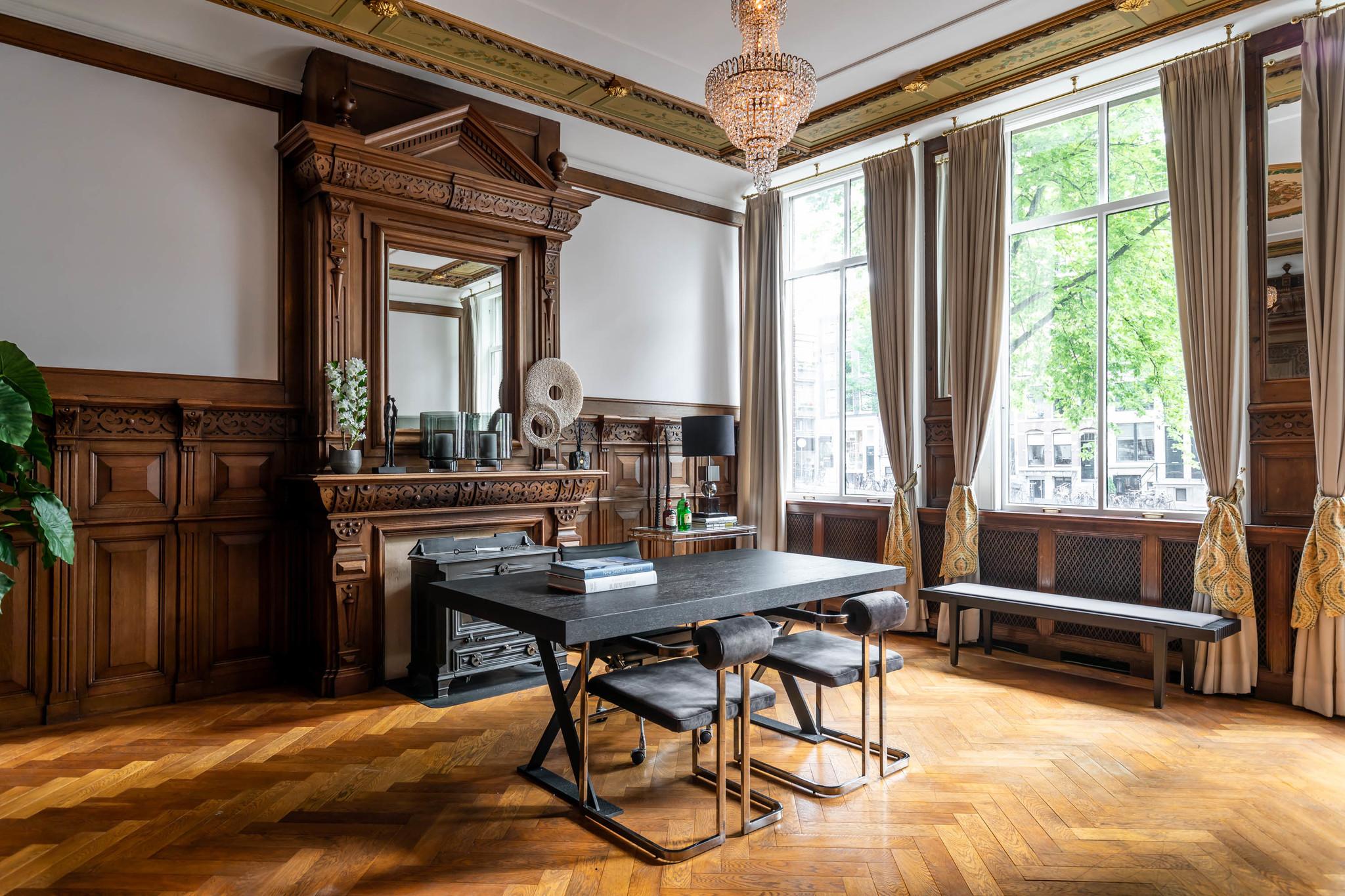 MILO Dining Chair Graphite Velvet-5
