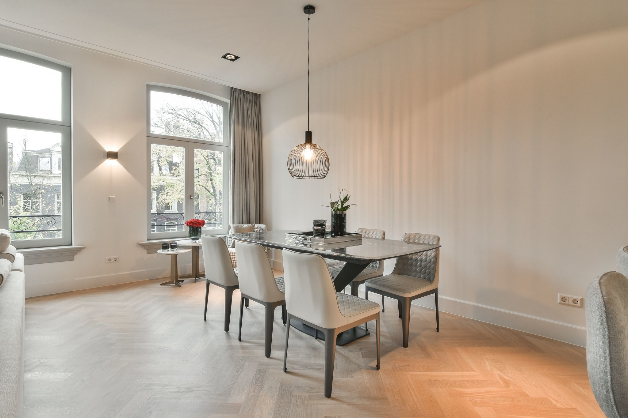 Milano Dining Table antracite marble-4