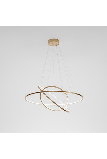 HALO Ceiling Light Rose Gold