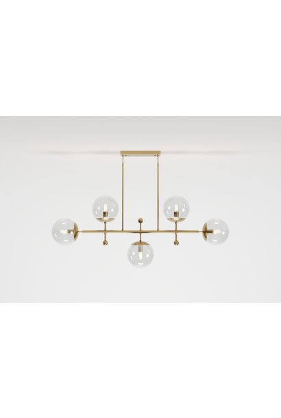 HUNTINGTON Chandelier Clear Glass