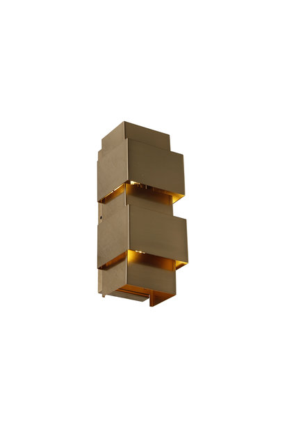 SAINT Wall light square brass
