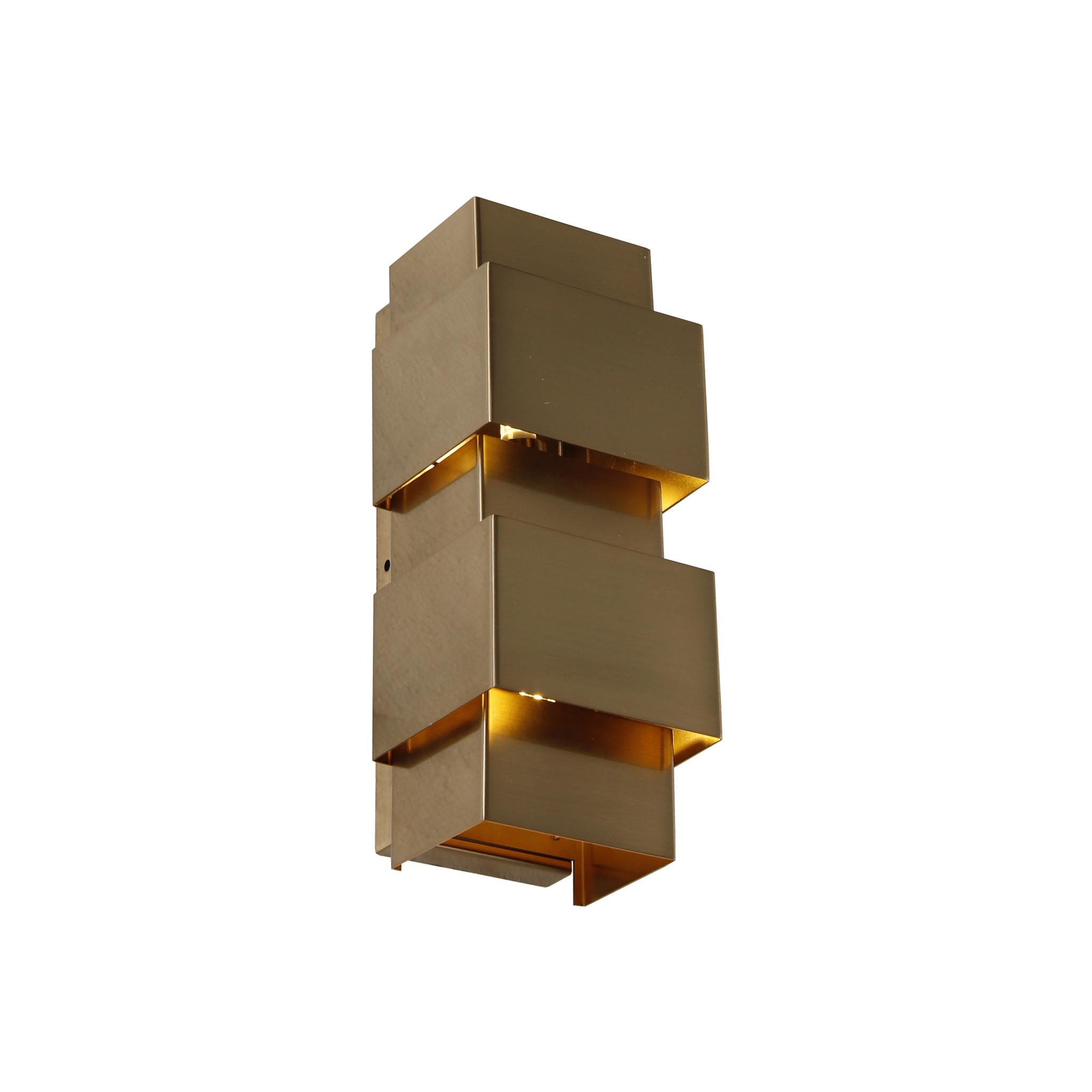 SAINT Wall light square brass-1