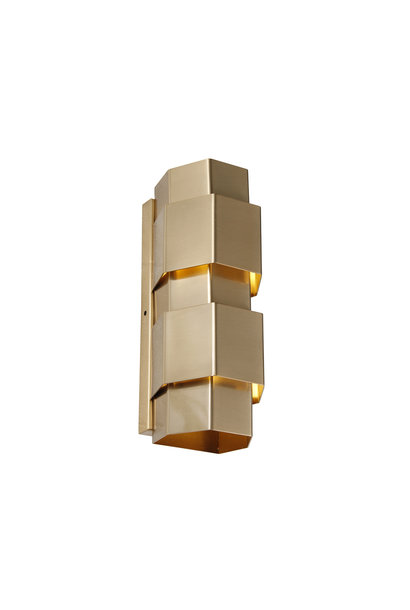 SAINT Wall light hexagon brass