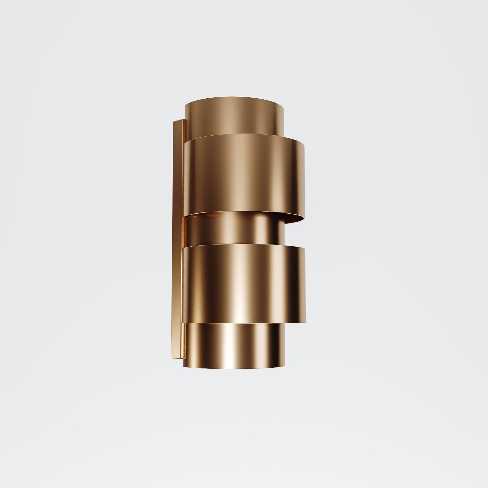 SAINT Wall light brushed brass-1