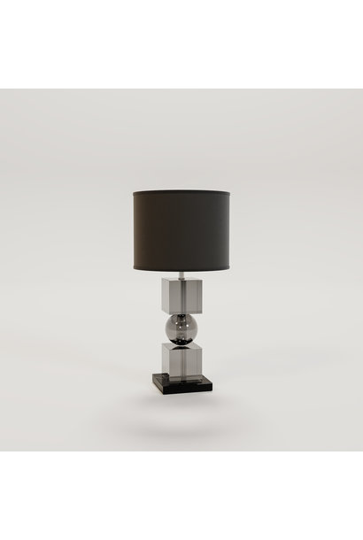 LONDON Table Lamp Smoke glass