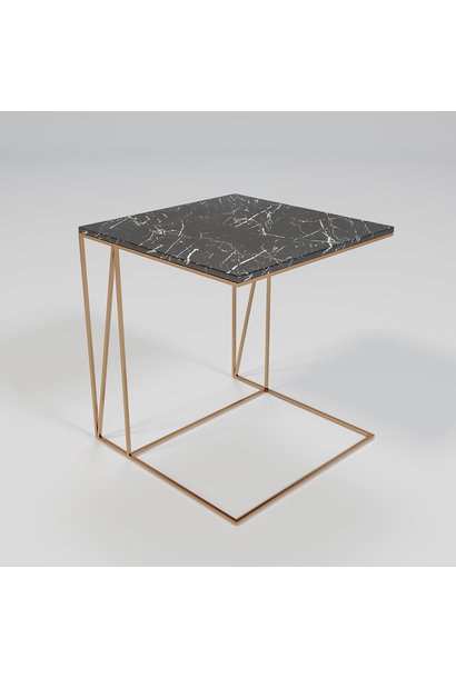 COCKTAIL U-Table COPPER Grigio bronze Armani