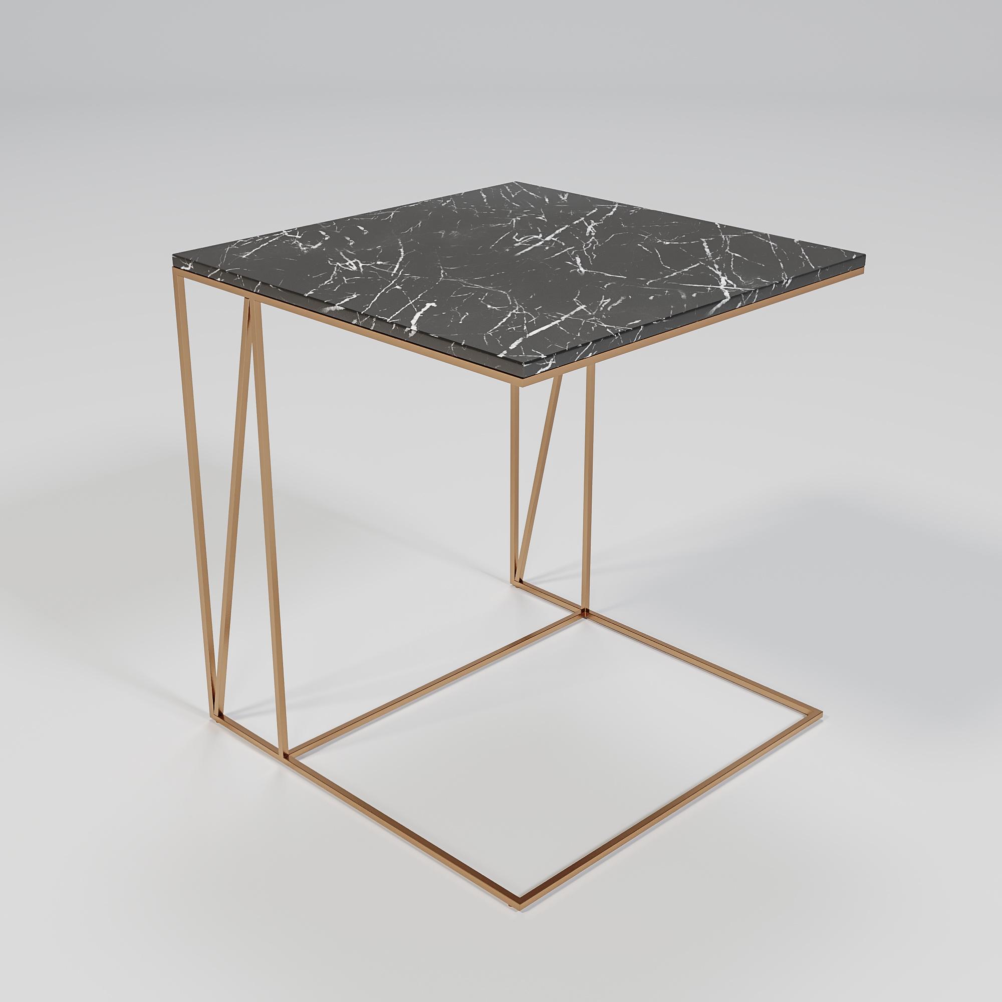 COCKTAIL U-Table COPPER Grigio bronze Armani-1