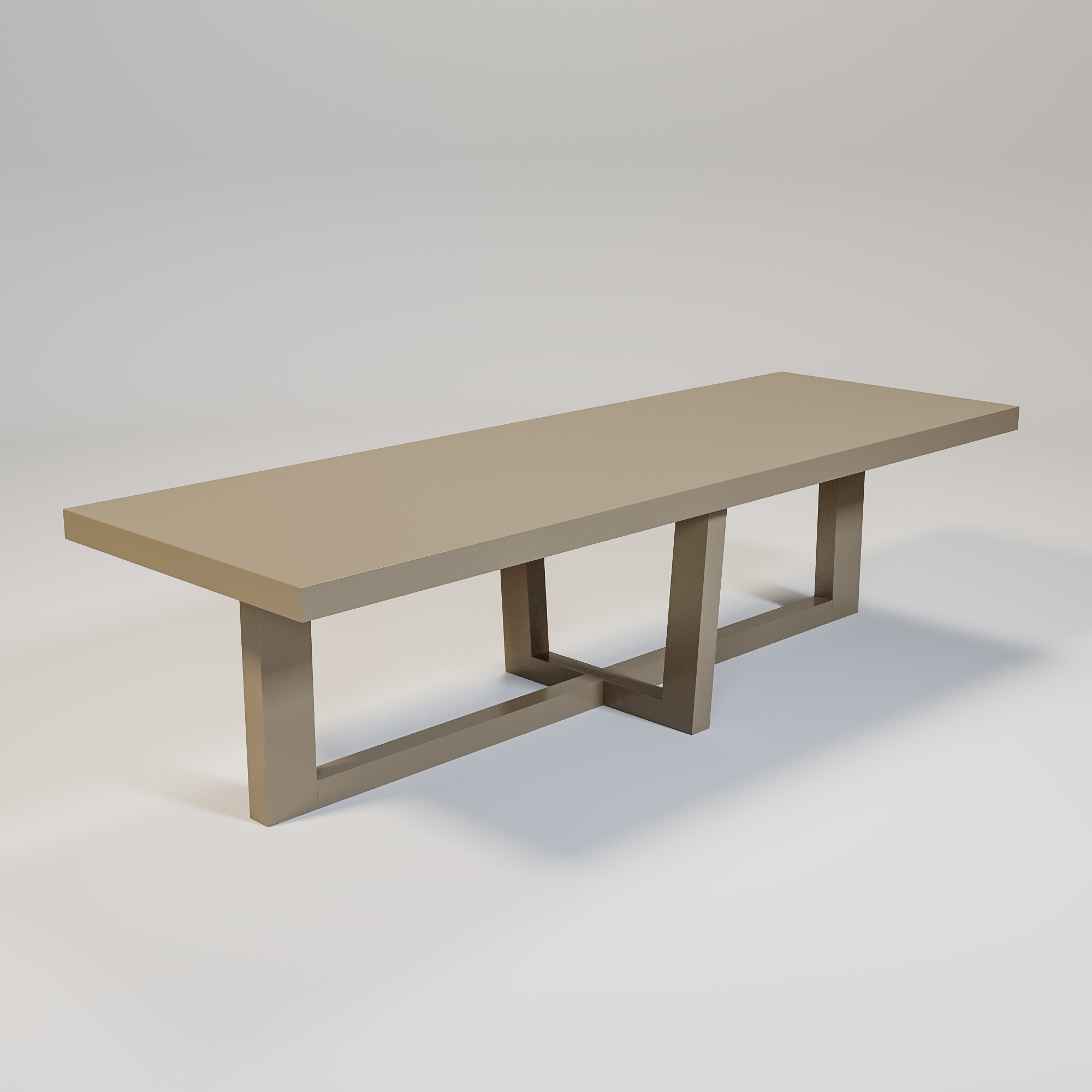 SOHO Dining table mat taupe-1