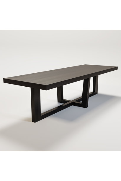 SOHO Dining table smoke wood