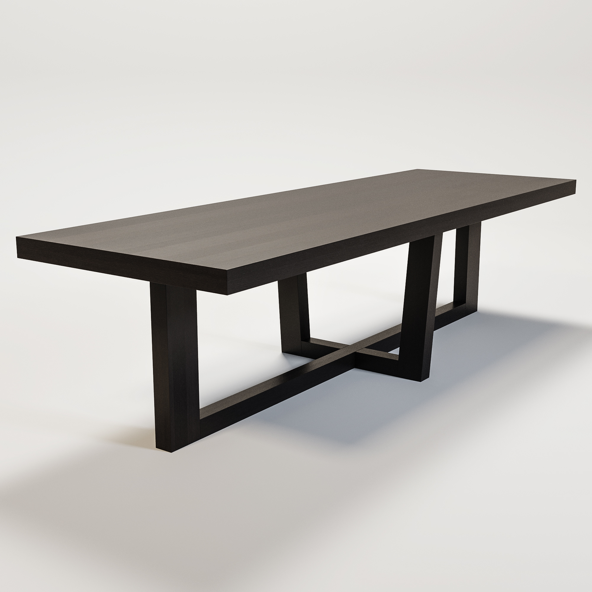 SOHO Dining table smoke wood-1