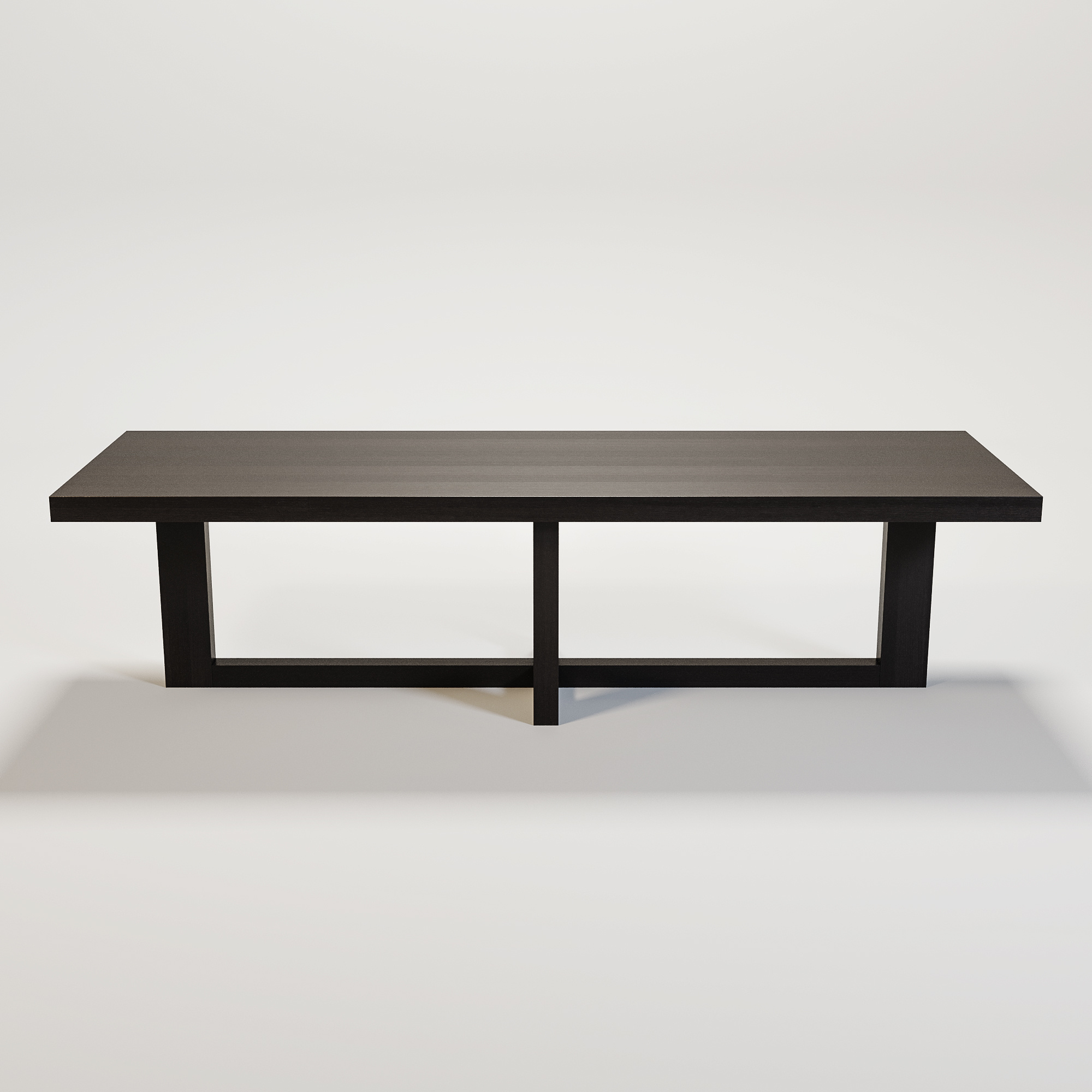SOHO Dining table smoke wood-2