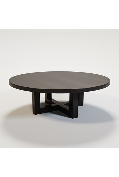 SOHO Coffee table round 120cm smoke wood