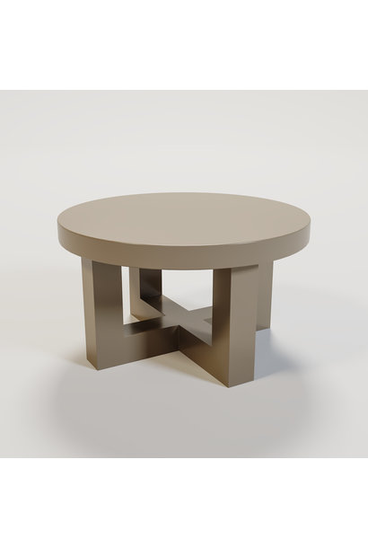 SOHO Coffee table round 60cm mat taupe