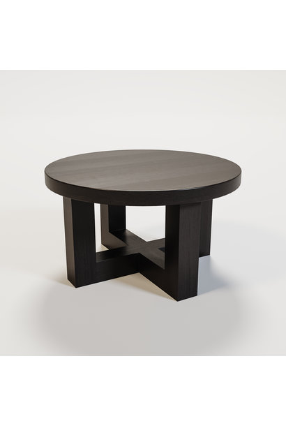 SOHO Coffee table round 60cm smoke wood