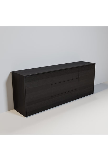 JAMES Cabinet 200cm smoke wood
