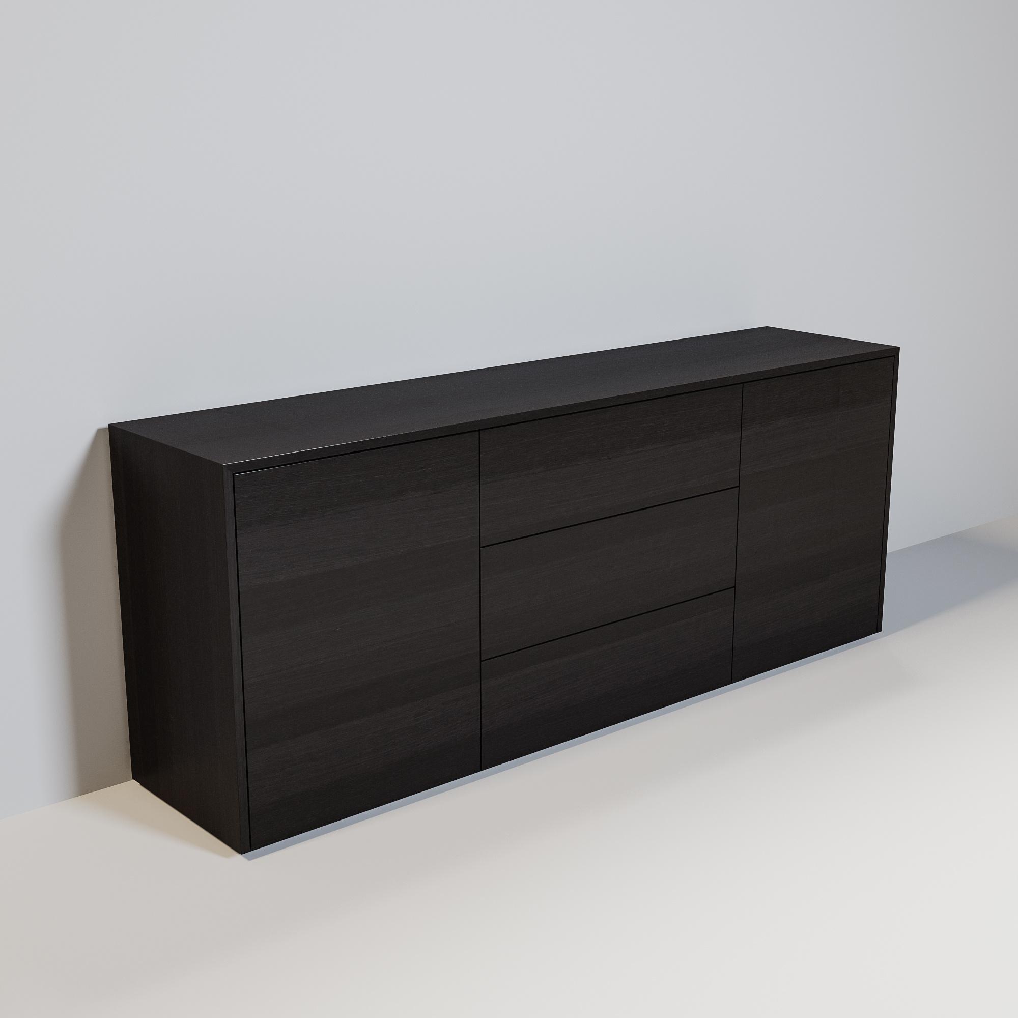 JAMES Cabinet 200cm smoke wood-1