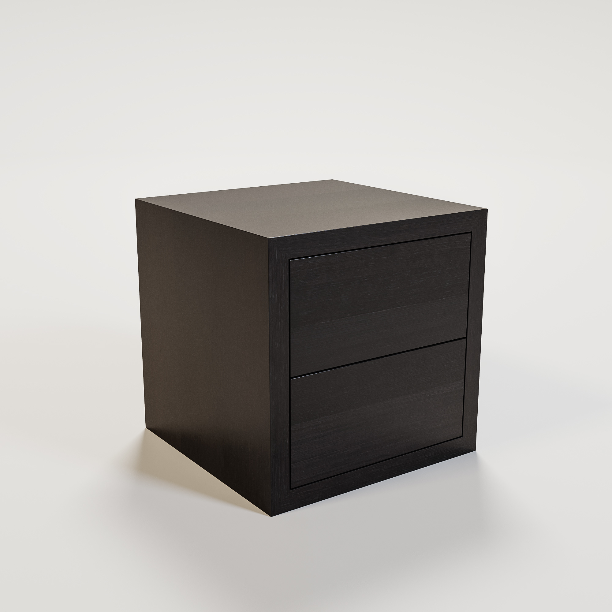 JAMES Nightstand 50x50cm smoke wood-1