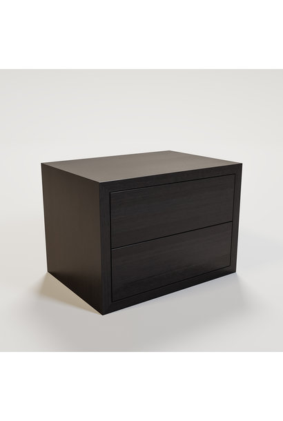 JAMES Nightstand 70x50cm smoke wood