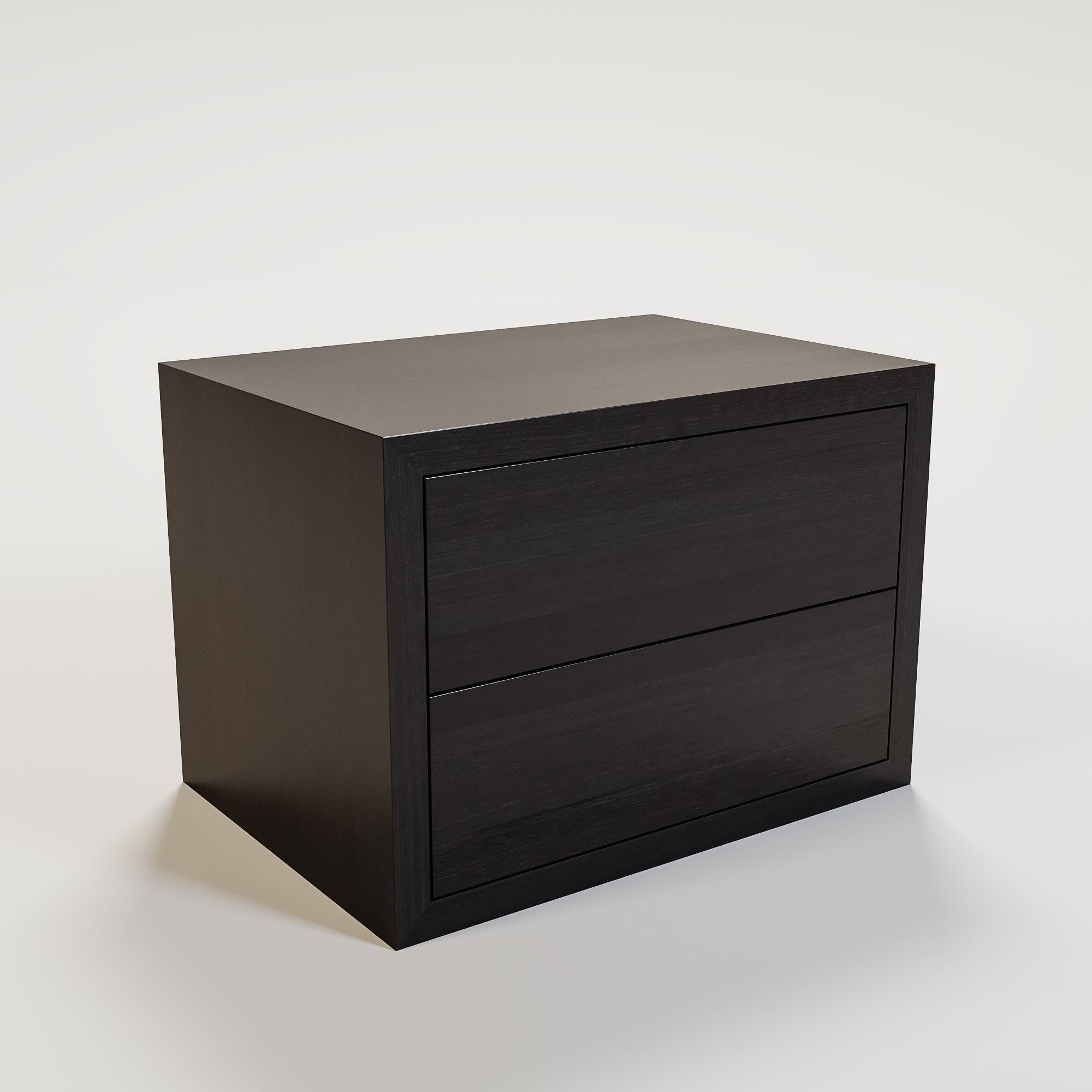 JAMES Nightstand 70x50cm smoke wood-1